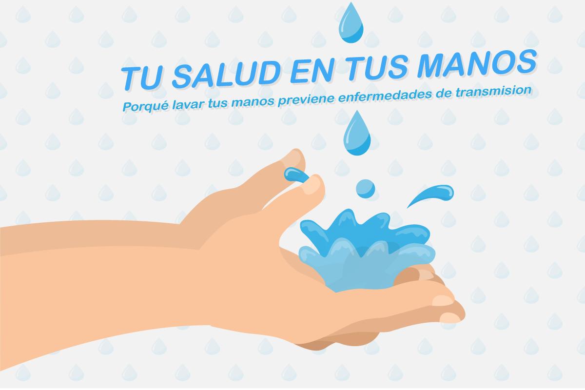 Lavarte las manos